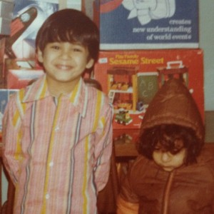 Me circa 1976. I have no clue who the kid next to me is.