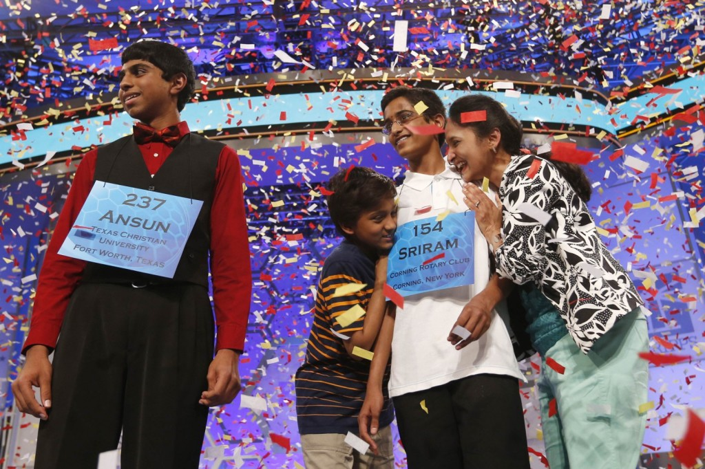 Indian-American kids + spelling bee = 8 in a row