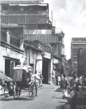 This is Bentick Street where Dr Binyamin Sinha lived and practiced medicine. They stayed there when they first  came to  Calcutta, before the boarding schools & hostels.